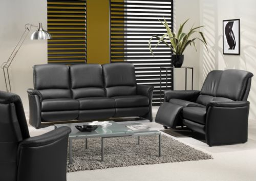 Relaxen in leder - Decoratie new england ...