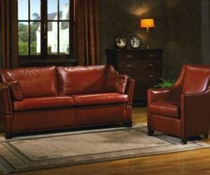 Sofa in leder - Decoratie new england ...