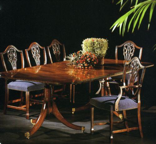 Regency tafel - Decoratie new england ...