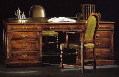 Bureel in eik 01 - Decoratie new england ...