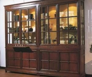 Vitrine bibliotheekkast 02 - Decoratie new england ...