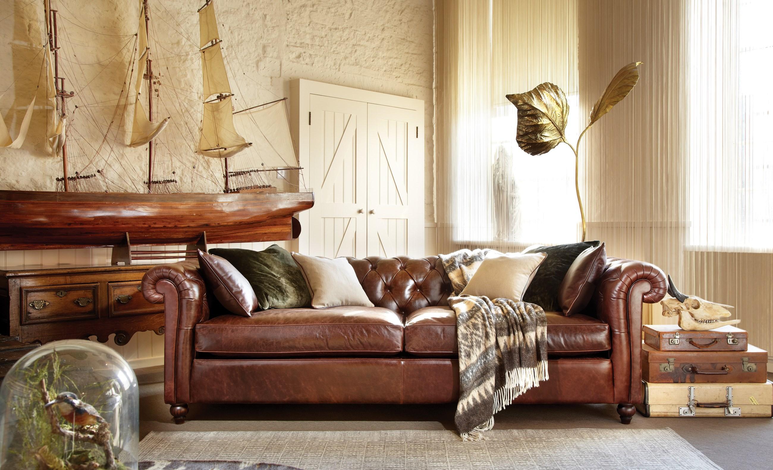 Klassieke meubelen chesterfield zetels engelse for Interieur engels